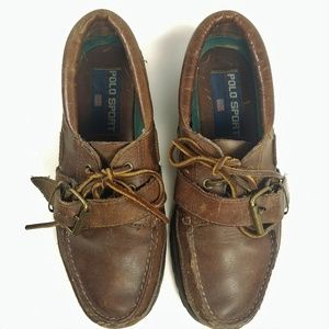 Polo Sport By Ralph Lauren  Lug Sole Boat Shoes 9